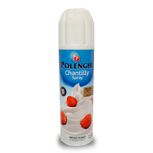 Chantilly Polenghi Spray 240ml Chantilly Polenghi Spray; Chantilly Spray; Chantilly Polenghi; Chantilly; Polenghi; Spray - Sobremesas e Seus Ingredientes