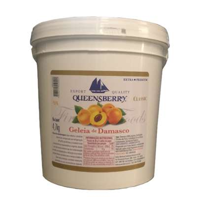 Geleia Queensberry damasco 4,5kg Geleia, Queensberry, Damasco, geleia damasco, geleia queensberry Sobremesas e Seus Ingredientes